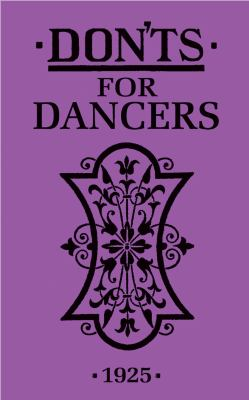 Don'ts for Dancers 9781408109892