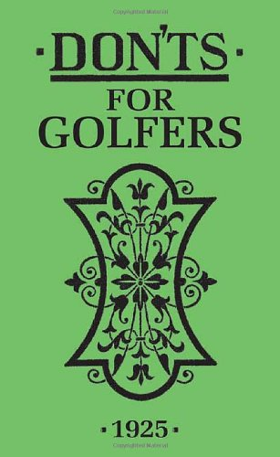 Don'ts for Golfers 9781408106716