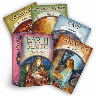 Earth Magic Oracle Cards: A 48-Card Deck and Guidebook 9781401925352