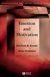 Emotion and Motivation