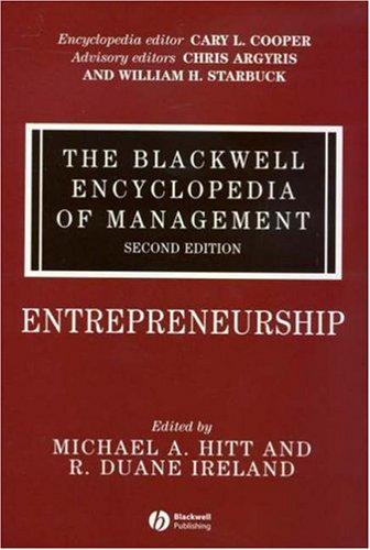 Entrepreneurship 9781405116503