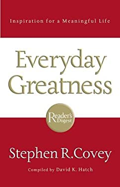 Everyday Greatness: Inspiration for a Meaningful Life 9781401602413