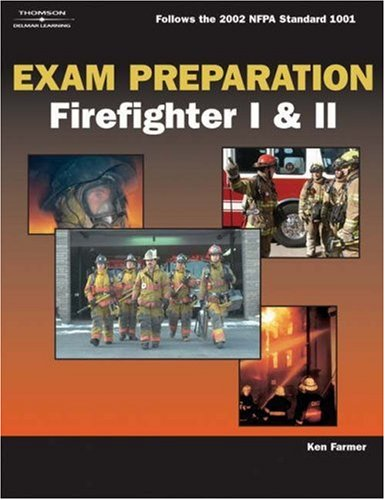 Exam Preparation for Firefighter I & II [With CDROM] 9781401899233