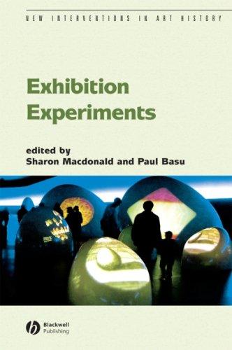Exhibition Experiments 9781405130776