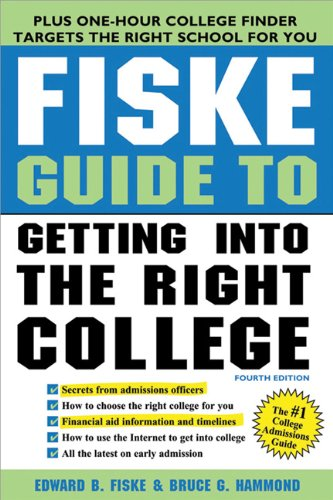 Fiske Guide to Getting Into the Right College 9781402243097