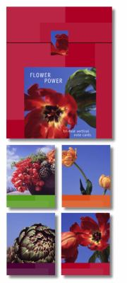 Flower Power Signature Vertical Note Cards [With 13 Vertical] 9781400045792