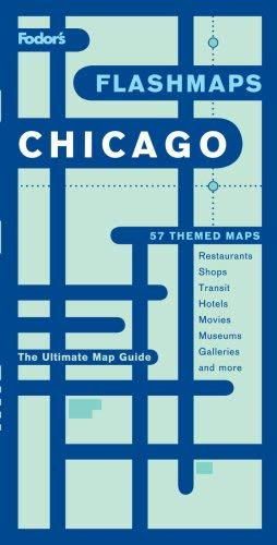 Fodor's Flashmaps Chicago 9781400016303