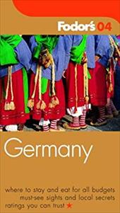 Fodor's Germany 2004 6020655