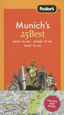 Fodor's Munich's 25 Best [With Pullout Map] 9781400018284