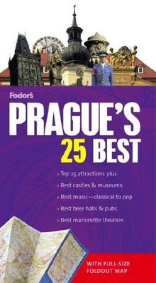 Fodor's Prague's 25 Best [With Map] 9781400016327