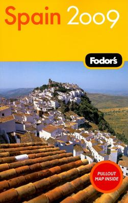 Fodor's Spain [With Pullout Map] 9781400007042