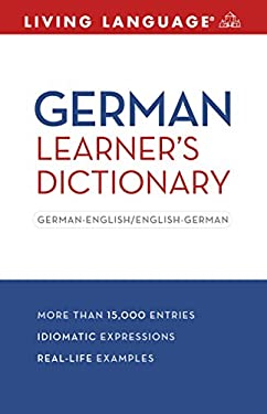 German Learner's Dictionary: German-English/English-German 9781400024452