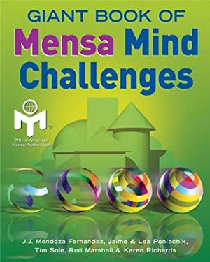 Giant Book of Mensa Mind Challenges 9781402710490
