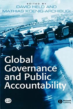 Global Governance and Public Accountability 9781405126786