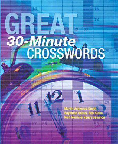 Great 30-Minute Crosswords 9781402707711