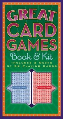 Great Card Games Book & Kit [With Cards] 9781402731280