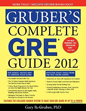 Gruber's Complete GRE Guide 9781402250958