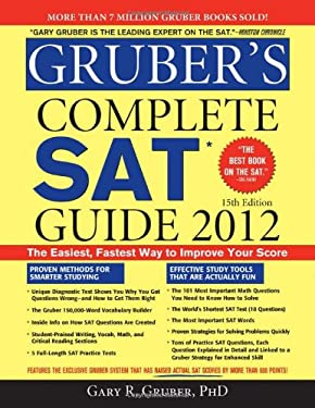Gruber's Complete SAT Guide 2012, 15e