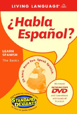 Habla Espanol: Learn Spanish: The Basics [With Coursebook] 9781400020928