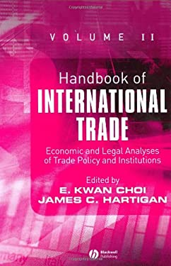Image of Handbook of International Trade: Economic and Legal Analyses of Trade Policy and Institutions