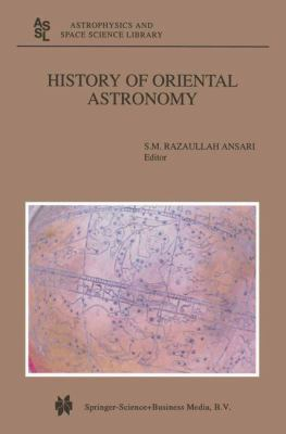 History of Oriental Astronomy