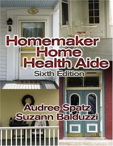 Homemaker Home Health Aide 9781401831394