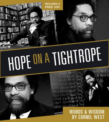 Hope on a Tightrope: Words and Wisdom [With CD]