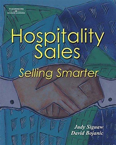 Hospitality Sales: Selling Smarter 9781401834784