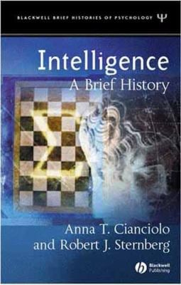 Intelligence: A Brief History 9781405108232