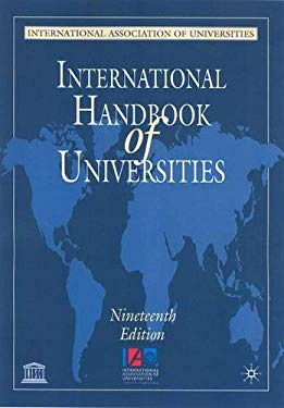 International Handbook of Universities 9781403992550