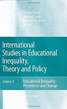 International Studies in Educational Inequality, Theory and Policy Set 9781402059155