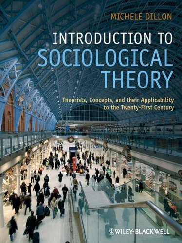 an introduction to sociological theories A macro theory is a sociological theory designed to study the larger social, global, and societal level of sociological phenomena this theory was founded by a german philosopher, economist, sociologist, and revolutionary (1818-1883).