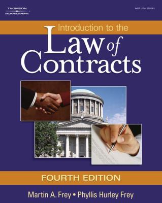 Introduction to the Law of Contracts 9781401864712