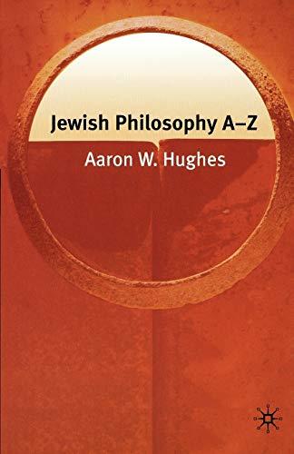 Jewish Philosophy A-Z 9781403972651