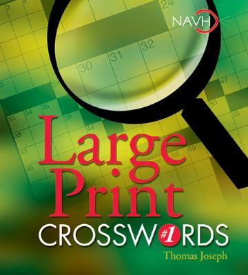 Large Print Crosswords #1 9781402707667