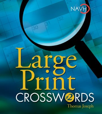 Large Print Crosswords #2 9781402707674