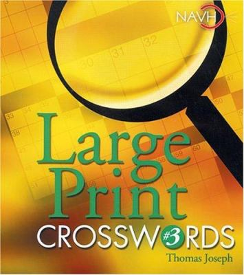 Large Print Crosswords #3 9781402712371