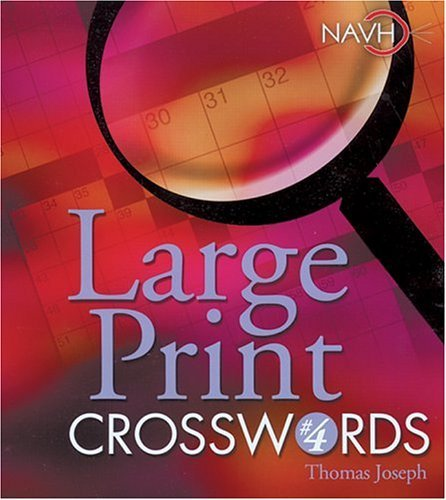 Large Print Crosswords #4 9781402712388