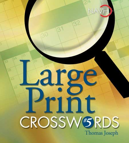 Large Print Crosswords #5 9781402734021