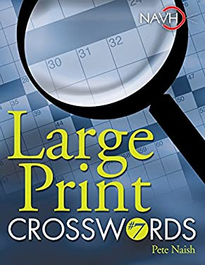 Large Print Crosswords #7 9781402744136