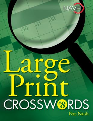 Large Print Crosswords #8 9781402744150