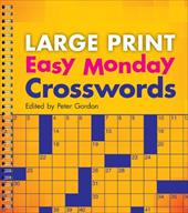 Large Print Easy Monday Crosswords 13326702