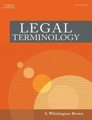 Legal Terminology 9781401820121