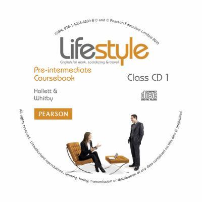 Lifestyle Pre-Intermediate Class CDs 9781405863896