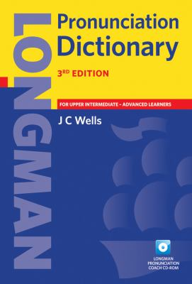 Longman Pronunciation Dictionary, Paper [With CDROM] - 3rd Edition