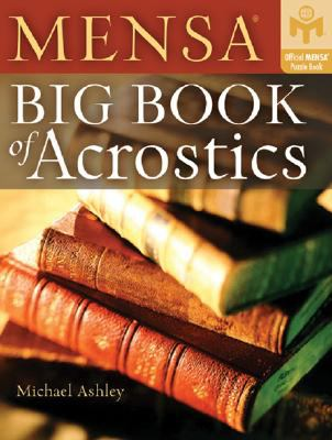 MENSA Big Book of Acrostics 9781402747298