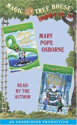 Magic Tree House: Books 31 & 32: Summer of the Sea Serpent, Winter of the Ice Wizard 9781400091591