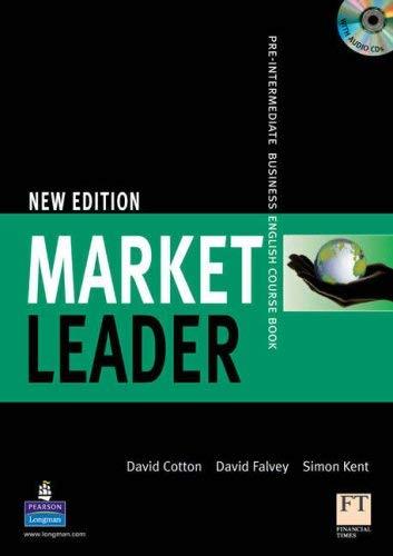 Market Leader Course Book W/CD 9781405813372