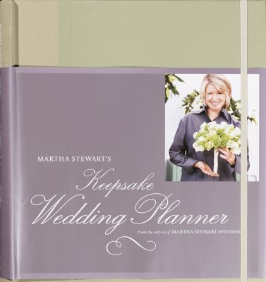 Martha Stewart's Keepsake Wedding Planner 9781400048007