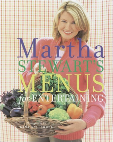 Martha Stewart's Menus for Entertaining 9781400046607